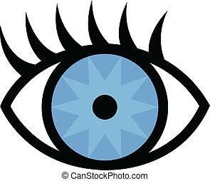 cils, oeil
