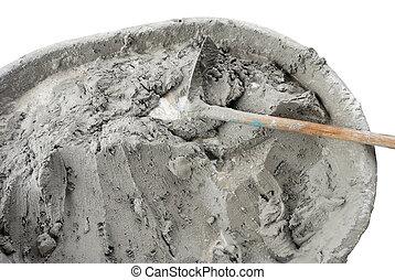 ciment mouillé