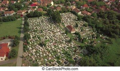 cimetière, au-dessus