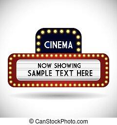 cinéma, conception