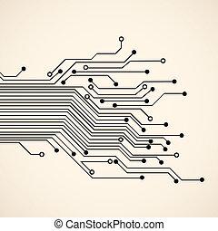 circuit, fond, résumé