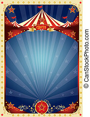 cirque, amusement, affiche