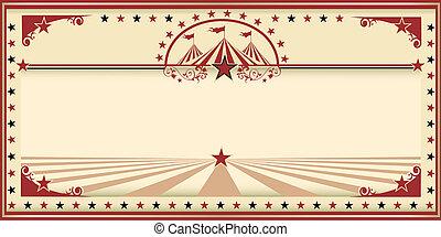 cirque, carte rouge, vendange