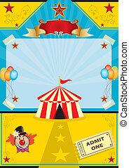 cirque, plage
