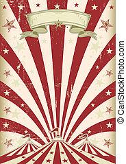 cirque, vendange, soleil rouge