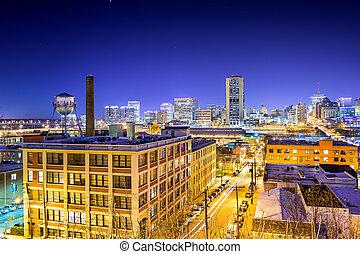 cityscape, richmond, virginie
