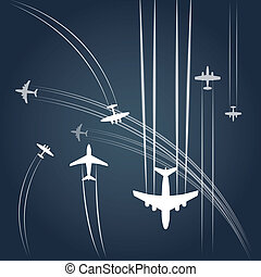 civil, airplanes`, transport, sentier
