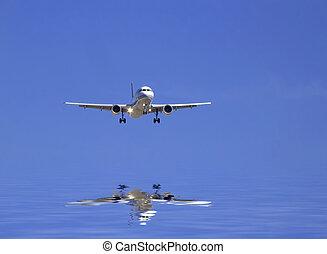 civil, avion
