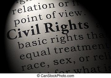 civil, définition, droits