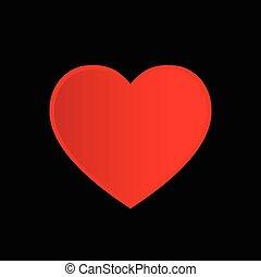 clés, coeur, vecteur, serrures