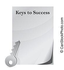 clés, reussite