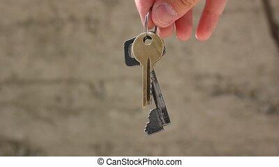 clés, tenue