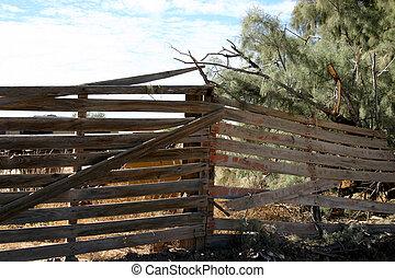 clôture bois
