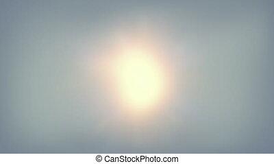 clair, chaud, soleil, temps, shimmers, aérien