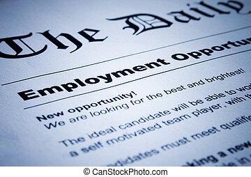 classifieds, emploi