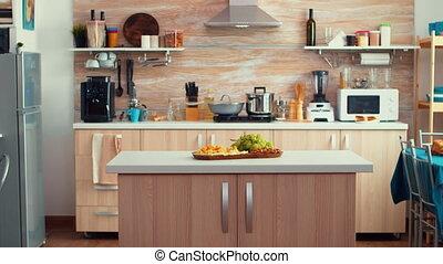 classique, cuisine, moderne