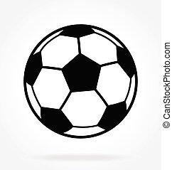 classique, football, vecteur, boule football