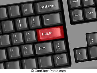 clavier, clã©, aide