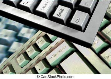 clavier, technologie informatique