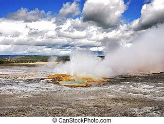 clepsydra, geyser