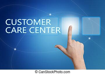 client, centre, soin