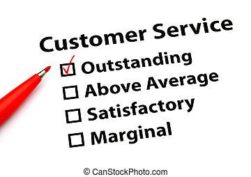 client, performance, service, formulaire