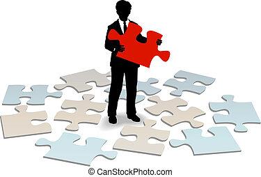 client, réponse, soutien, aide, business