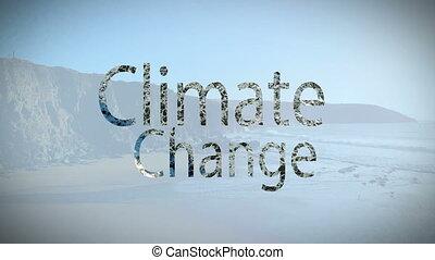 climat, composite, vidéo, numérique, changement