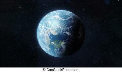 climat, global, changement, chauffage