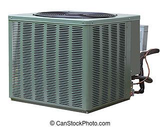 climatiseur, central, air