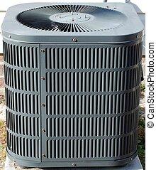 climatiseur, extérieur, air