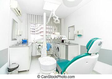 clinique, fonctionnement, outils dentaires, conception, intérieur