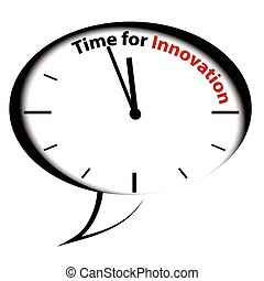 clock-time, bulle, innovation