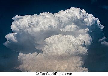 cloudscape, cumulonimbus, nuages