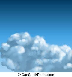 cloudscape, fond