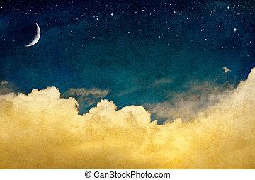 cloudscape, lune