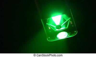 club, lumière, système, nuit