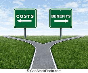 coûts, avantages