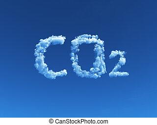 co2, nuageux