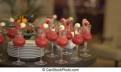 cocktail, collations
