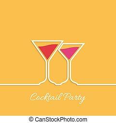 cocktail, partie.