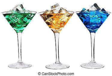 cocktails, trois