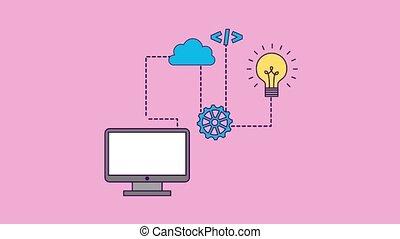 code, concept, programmation
