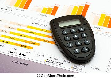 code, générateur, ventes, graphiques, statistiques, rapport