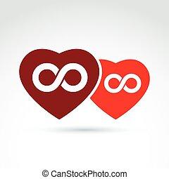 coeur, amour, concept, toujours