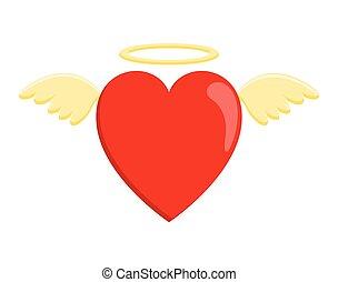 coeur, ange