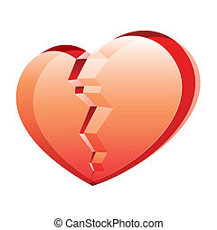 coeur cassé