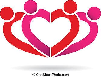 coeur, communauté, gens