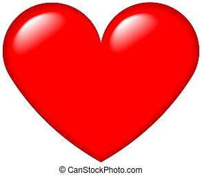 coeur, graphique, 4
