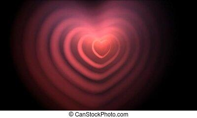 coeur, ondulation